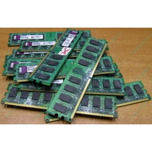 ГЛЮЧНАЯ/НЕРАБОЧАЯ память 2Gb DDR2 Kingston KVR800D2N6/2G pc2-6400 1.8V  (Елец)