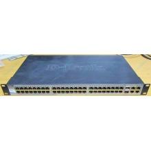 Управляемый коммутатор D-link DES-1210-52 48 port 10/100Mbit + 4 port 1Gbit + 2 port SFP металлический корпус (Елец)