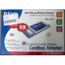 Wi-Fi адаптер D-Link AirPlus DWL-G650+ для ноутбука (Елец)